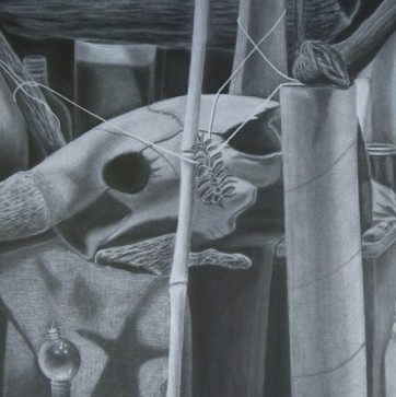 Still Life _ Final (White Charcoal)
